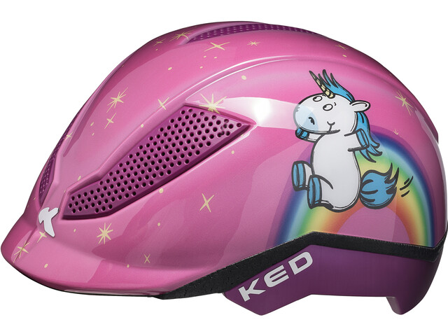 KED Pina - Casco de bicicleta Niños - Multicolor